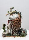 <p>Christ<br /><br />2012<br />glazed ceramic<br />48,5 x 21,5 x 43,5 cm</p>