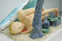 <p>The Sleeping God</p><p> </p><p>2014<br />glazed ceramic<br />46 x 45 x 34 cm</p>
