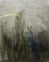 Frauke Boggasch: o. T. (aus: Boris Poplawskij), 2014 oil, graphite on canvas 190 x 160 cm