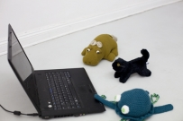 <p>o.T. (TNC #10)</p><p> </p><p>2016<br />digital video with sound, laptop, stuffed animals<br />video loop 4:00 min, other dimensions variable</p>
