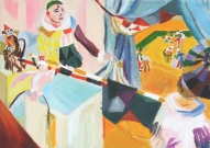 Circus<br /><br />2007<br />Oil on canvas<br />50 x 70 x 2 cm
