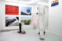 <p>Salome Ghazanfari und Felix Oehmann</p><p> </p><p>2014</p><p>Exhibition view</p><p>Cruise & Callas</p>