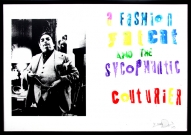 <p>A Fashion Fat Cat and the sycophantic Couturier</p><p> </p><p>2009<br />Silkscreen and acrylic on linen<br />73 x 103 x 3 cm</p>